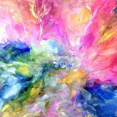 Artwork collections for sale by Alexis Bonavitacola.  I desire to create art that feels unbridled and free.  My work captures energy, movement, fluidity, and gives me the ability to just go with the flow.  My creations celebrate my natural curiosity.  I love layering and blending colors creating magical...