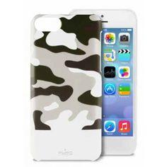 Carcasa iPhone 5C Puro - Camou Blanca  AR$ 131,82