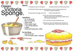 Victoria Sponge Cake Recipe