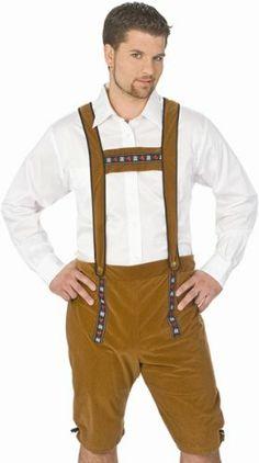 Alpine Yodeler Lederhosen Costume Size: Large