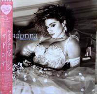 MADONNA / LIKE A VIRGIN (LP)JAPANESE OBI