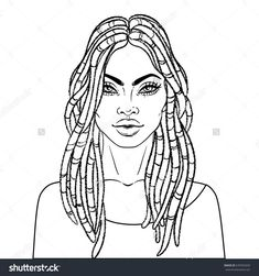 African American Princess Coloring Page | Coloring pages ...