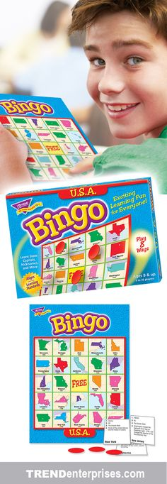 Perfect game for middle-schoolers and adults! TREND Bingo is fast-paced and 73ceb260f1