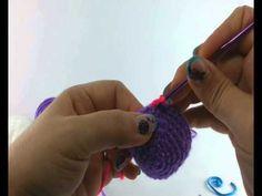 En este vídeo tejeremos con la técnica de amigurumi el cuerpo del búho. La semana pasada tejimos los ojos y las alas. http://www.youtube.com/watch?v=NqadJt9O...