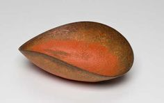 Untitled Oval Bowl, c. 1940 Ceramic with Pompeian glaze; 3.75 x 5 x 1.5 inches;  Collection of Carol and Seymour Haber Photo Dan Kvitka