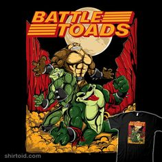 0595f7290bd Battle Toads · Classic Nes GamesShirt ...