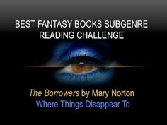 WHERE THINGS DISAPPEAR TO | The Borrowers | BFB Subgenre #ReadingChallenge #fantasy #booktube #vlog
