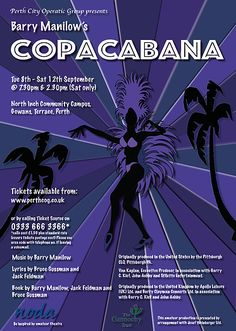 poster of Copacabana By Perth City Operatic Group.