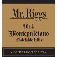 Mr. Riggs Generation Series Montepulciano d'Adelaide Hills 2014 - Featured September Wine 2017 #wine #montepulciano #mrriggs #gift