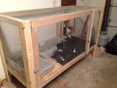 cat litter box door into garage - Google Search