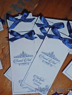 Papelaria personalizada #AzuleBranco #KitToalete #Casamento