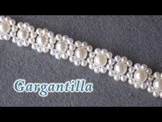 # DIY - Gagantilla, collar, o pulsera de perlas - YouTube