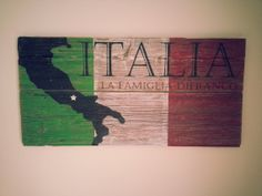 Hey, I found this really awesome Etsy listing at http://www.etsy.com/listing/159161693/italia-last-name-family-sign-on-rustic