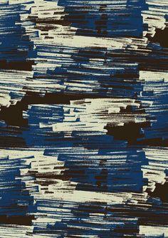pattern by Minakani design inspiration Motifs Textiles, Textile Patterns, Textile Prints, Surface Pattern Design, Pattern Art, Abstract Pattern, Graphic Patterns, Print Patterns, Graphic Design