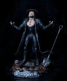 undertaker statue
