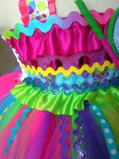 Candyland tutu dressCandy land tutu dress candy por GlitterMeBaby