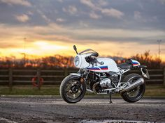 UK exclusive! BMW R NineT Racer first ride
