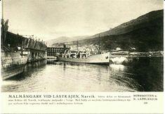 Nordland fylke Narvik Malmkaien med dampskip Utg i Sverige av Svenske Turistföreningen tidlig 1900-tall