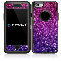 Amazon.com: Violet Magenta Ombre Shimmer Skin Decal for Lifeproof iPhone 6 Otterbox Defender Case (Case not included): Cell Phones & Accessories