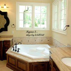 Corner Garden Tub | Home, Furniture & DIY > Home Decor > Wall Decals & Stickers