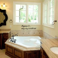 1000 images about corner tubs on pinterest corner for How to decorate a garden tub bathroom