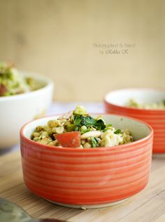 Whole Grains : Sorghum Pearls Mango and Veggie Salad in Cedar Vinegar dressing - My Tasty Curry
