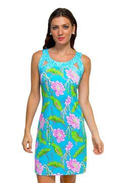 Gretchen Scott Isosceles Jersey Dress - Mystic Garden