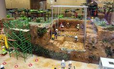 Una exposición recrea el mundo de Atapuerca a través de los Playmobil