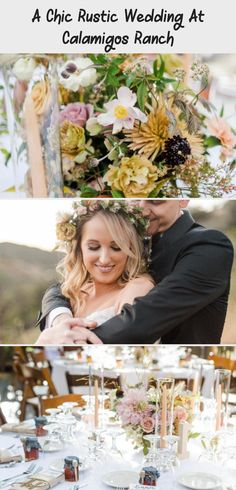 A chic rustic wedding at Calamigos Ranch, circle bouquet seating chart and escort board #weddingdecorPurple #weddingdecorChairs #weddingdecorPresidium #weddingdecorFlowers #weddingdecorCandles Olivia Jones, Fruit Centerpieces, Calamigos Ranch, Wedding Chair Decorations, Wedding Company, Sunset Colors, Event Photographer, Portrait Shots, Vintage Lace
