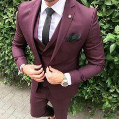 Suits for men, wedding men, suit fashion, latest mens fashion, men' Latest Mens Fashion, Mens Fashion Suits, Men's Suits, Cool Suits, Costume Bordeaux, Man Dress Design, Best Suits For Men, Modern Suits, Modern Man