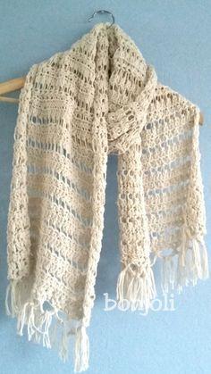 Bonjoli: Sjaal met patroon.