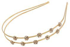 L. Erickson Engaged Headband a perfect wedding hair accessory