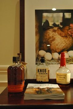 Whiskey looks so awesome. Especially with hens!