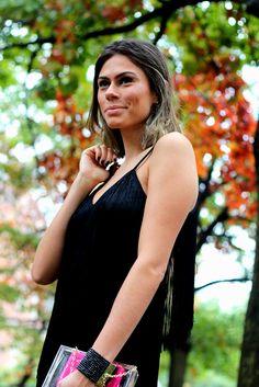 Vestido de franja, Vestido preto, Fringed Strappy Slip Dress, Fringed dress, Top Shop dress, Top shop