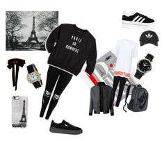 Paris outfits by gaynayhserteeklu on Polyvore featuring polyvore, Knowlita, Givenchy, Boohoo, adidas, Puma, NIKE, Casetify, Monique Lhuillier, Topshop, LE3NO, Patek Philippe, Gucci, WALL, fashion, style and clothing
