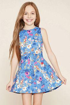 girls floral cami dress kids f21kids forever21 girls pinterest m dchen kleider und kind. Black Bedroom Furniture Sets. Home Design Ideas