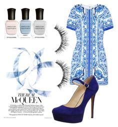Untitled #81 by daijah-escobar on Polyvore featuring polyvore, fashion, style, Dolce&Gabbana, Jessica Simpson, Sephora Collection and Deborah Lippmann
