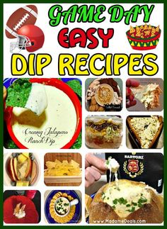 Game Day Easy Dip #Recipes