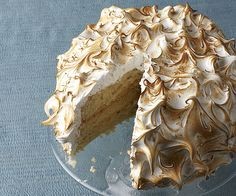 Outrageous Coconut-Cream Meringue Cake recipe