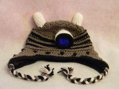 Dalek Hat - Free crochet pattern by Janell Leary / Nell's Needlecraft