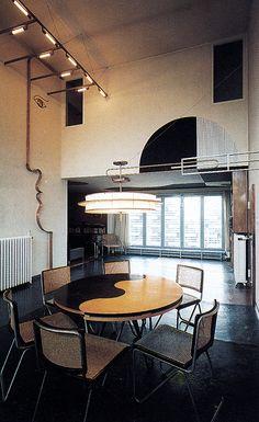 Adolf Rading, Casa Rabe Interior, 1928-1930