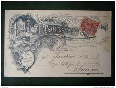 1907-CARTOLINA TELEGRAMMA TORRETTA MILANO 31-12-1907 - Delcampe.net