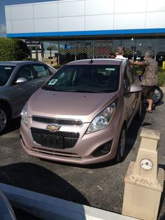 New Techno Pink Chevy Spark!!