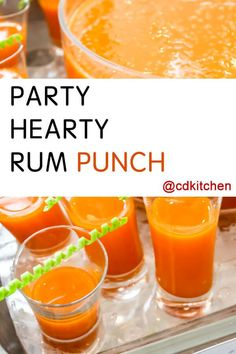 Made with orange sherbet, ginger ale, Hawaiian Punch tropical fruit ...