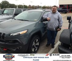 #HappyAnniversary to Zachory Scott on your #Jeep from Billy Zang at Huffines Chrysler Jeep Dodge RAM Plano!