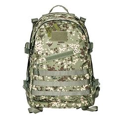 17 Colors Outdoor Hiking Mountaineering Backpack Waterproof Army Camping Bag Molle Camouflage Python Printing Field Rucksack Can Be Repeatedly Remolded. Camping & Hiking Climbing Bags