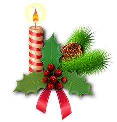 Boże Narodzenie, Holly, Świece