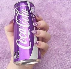 This coca-cola sounds like it tastes very good. I believe that it is a grape flavored coca-cola. Violet Aesthetic, Lavender Aesthetic, Aesthetic Colors, Aesthetic Photo, Aesthetic Pictures, Aesthetic Grunge, Aesthetic Vintage, Purple Love, All Things Purple