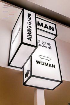 30 creative signage board design signage - signage design, r Store Signage, Retail Signage, Wayfinding Signage, Signage Design, Office Signage, Environmental Graphic Design, Environmental Graphics, Store Design, Web Design