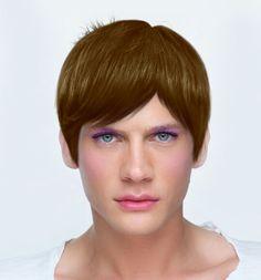 Boy girl? Its a boy youcam makeup studio. Fun!
